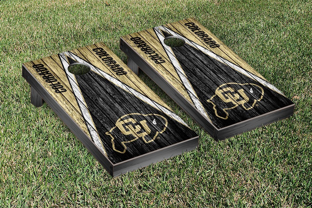 Colorado Buffaloes Weathered Triangle Version