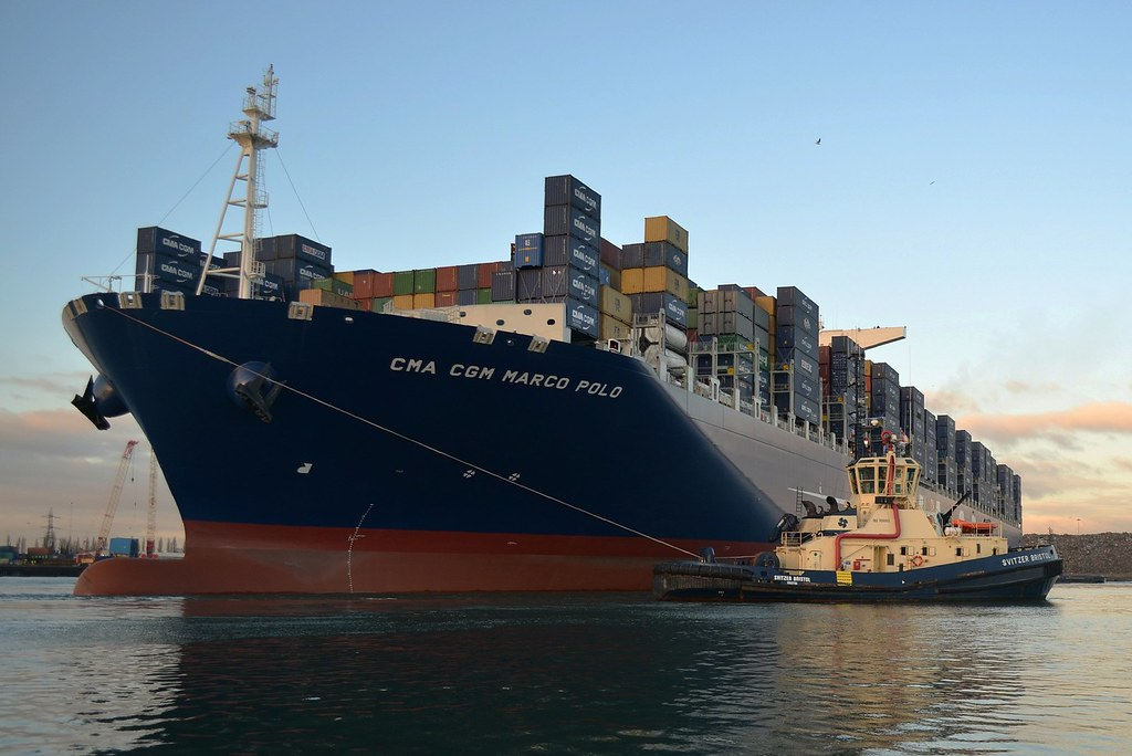 CMA CGM Marco Polo   The largest container ship in the ...