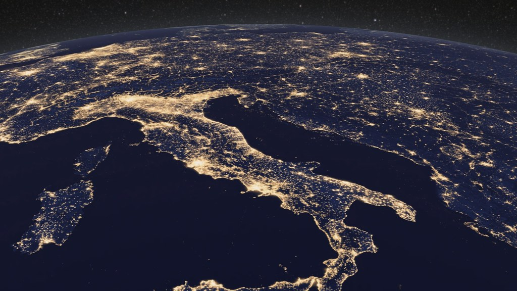 Earth at Night, Europe [hd video] | Unprecedented New Look ...