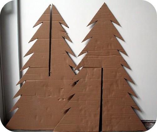 How To Make A Cardboard Christmas Tree / Hoe Maak Je Een K