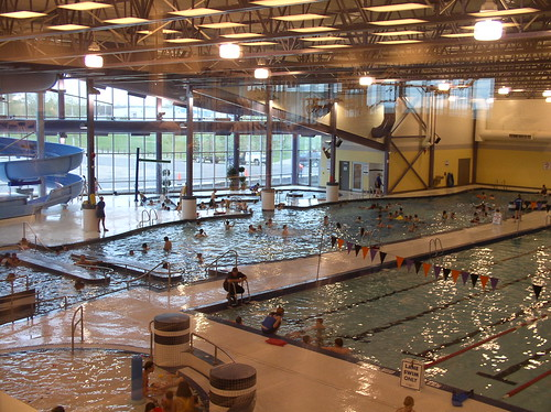 Genesis Place Pool Inside The City Of Airdrie Flickr