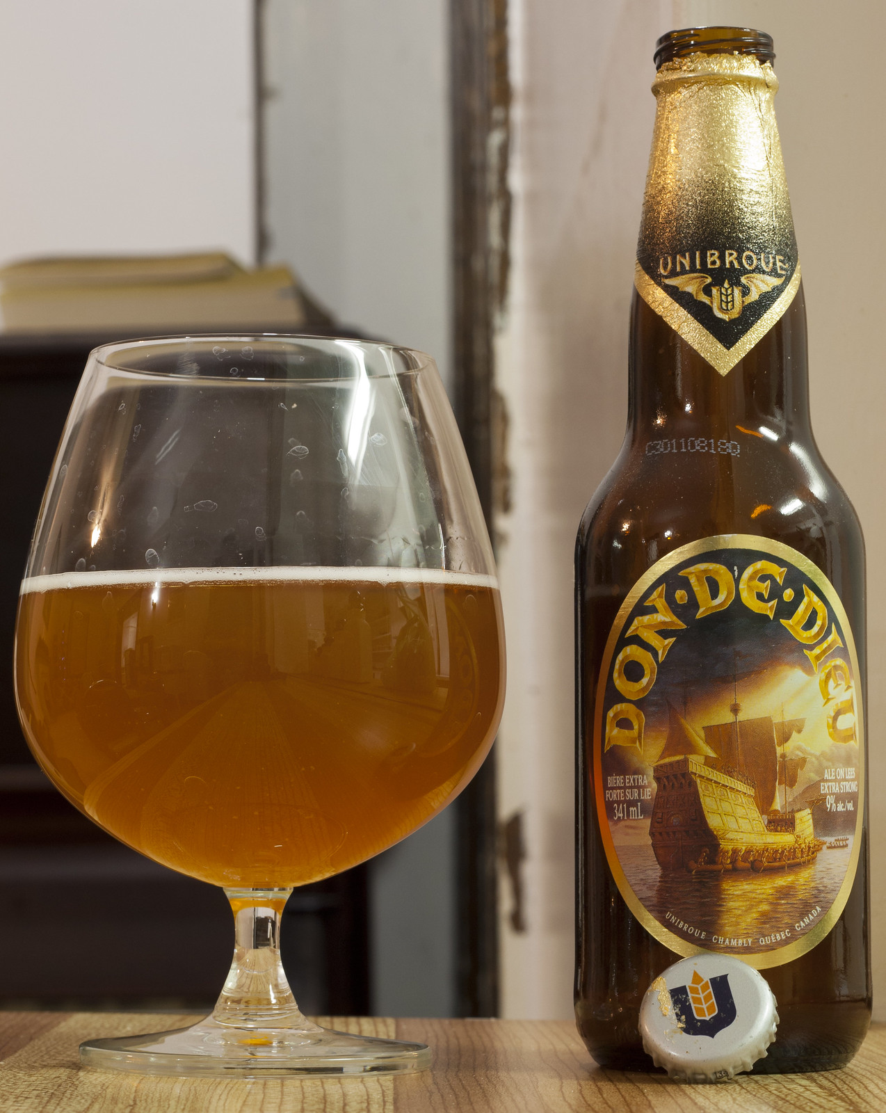 Unibroue Don de Dieu (I know I know.. whatever) 20/24 by Cody La Bière