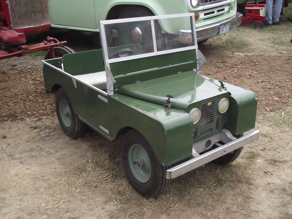 1952 land rover series 1 hand made kids car i wished i h flickr. Black Bedroom Furniture Sets. Home Design Ideas