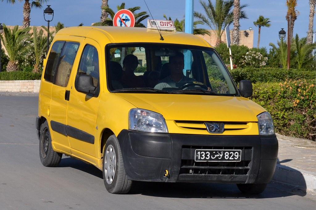 peugeot partner такси