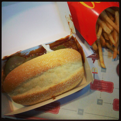 Finally, that itch is scratched! #McRib | by Jaquandor