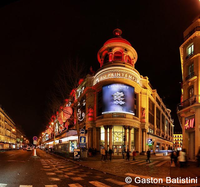Magasin au prinpemps 64 boulevard haussmann paris france flickr photo - Magasins orientaux paris ...
