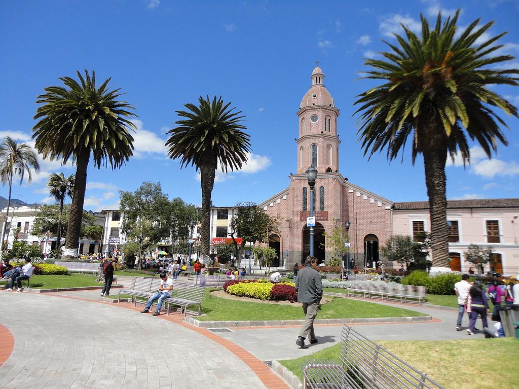 Santuario De San Luis Otavalo Ecuador Marcelo