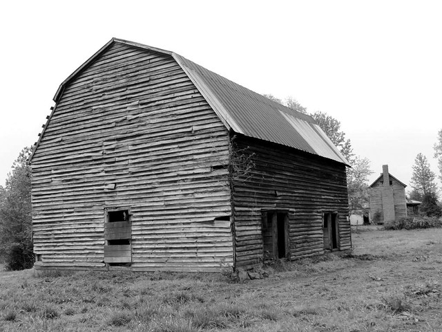 Barn With Gambrel Roof And Hay Hood 2 Flickr Photo