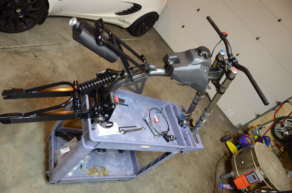 Frame Assembly | Motoped Build Up | Aaron Suchy | Flickr