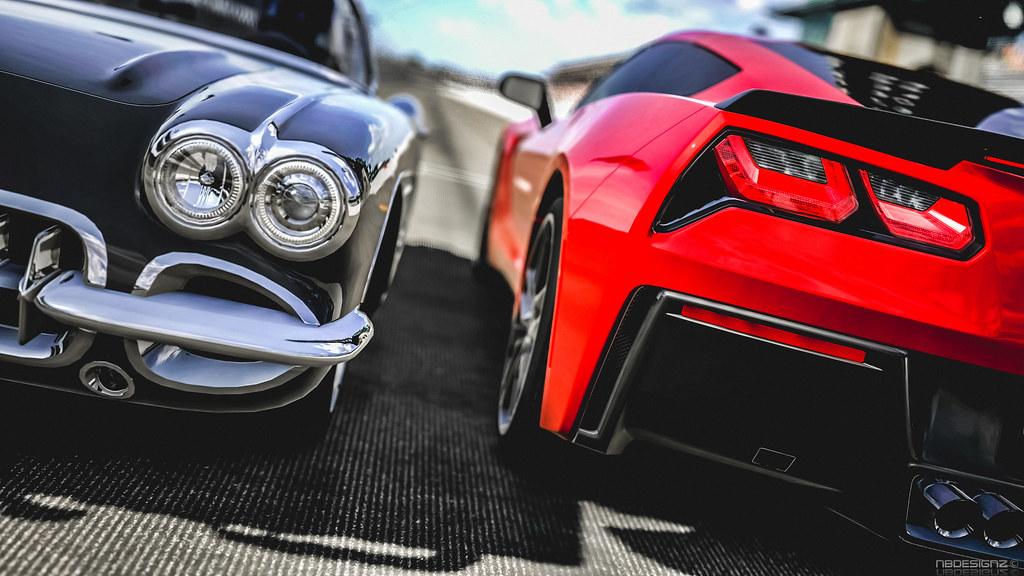 Chevrolet Corvette Stingray >> Chevrolet Corvette Stingray C7 2014 & Corvette C1 1960 ...