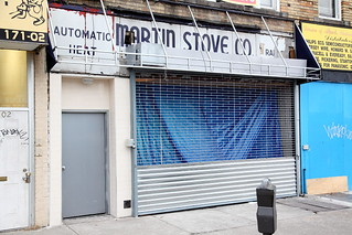 Surviving signage for Martin Stove, Jamaica, Queens | by Eating In Translation
