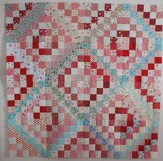 Scrappy Trip Quilt Top | by Erin @ Why Not Sew? Quilts