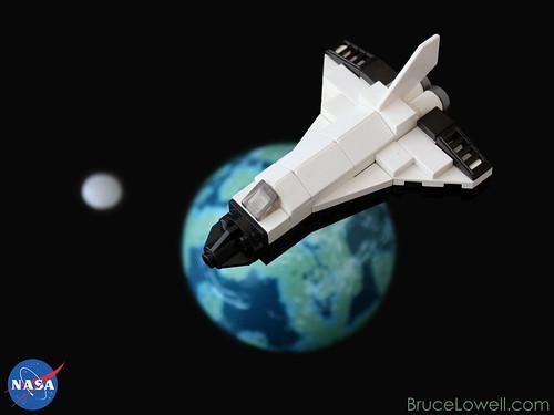 lego mini space shuttle instructions - photo #7