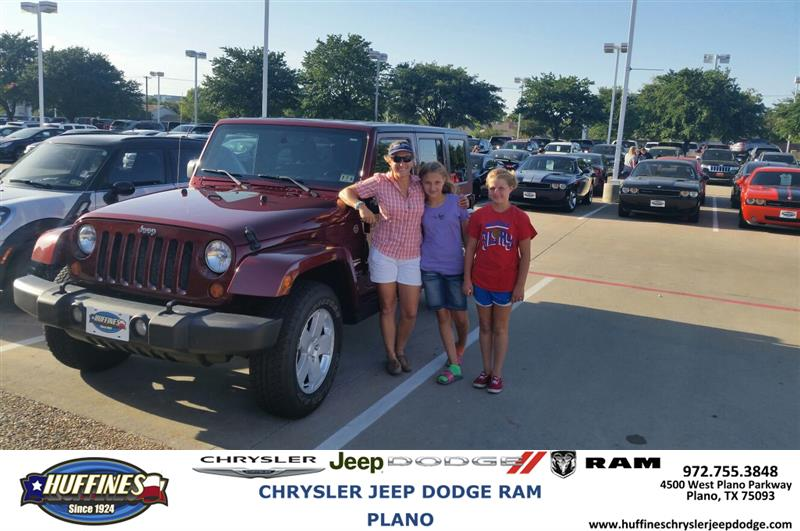 ... #HappyAnniversary To Thomas And Your 2007 #Jeep #Wrangler From Malcolm  Johnson At Huffines