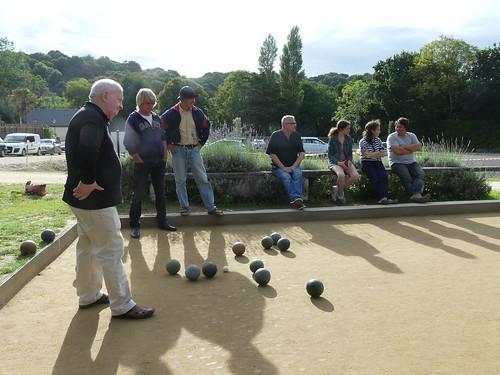 21/08/2016 - Saint Jean du Doigt : Concours de boules plombées en Quadrettes formées