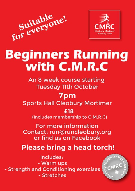 Beginners running course at CMRC