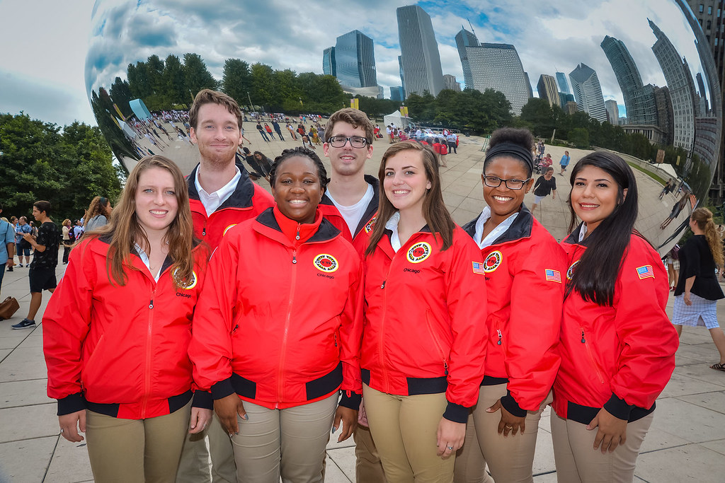 City Year Team serving Deneen School of Excellence | Flickr