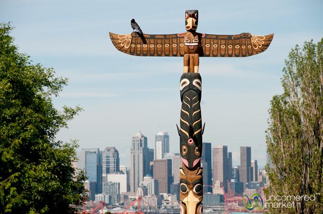American totem pole seattle washington flickr photo sharing