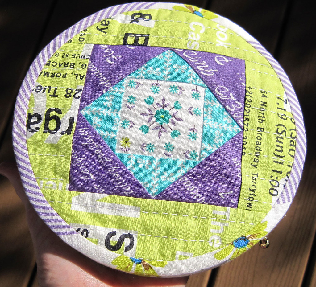Round Pouch A & PDF Tutorial | You know I love every single ...