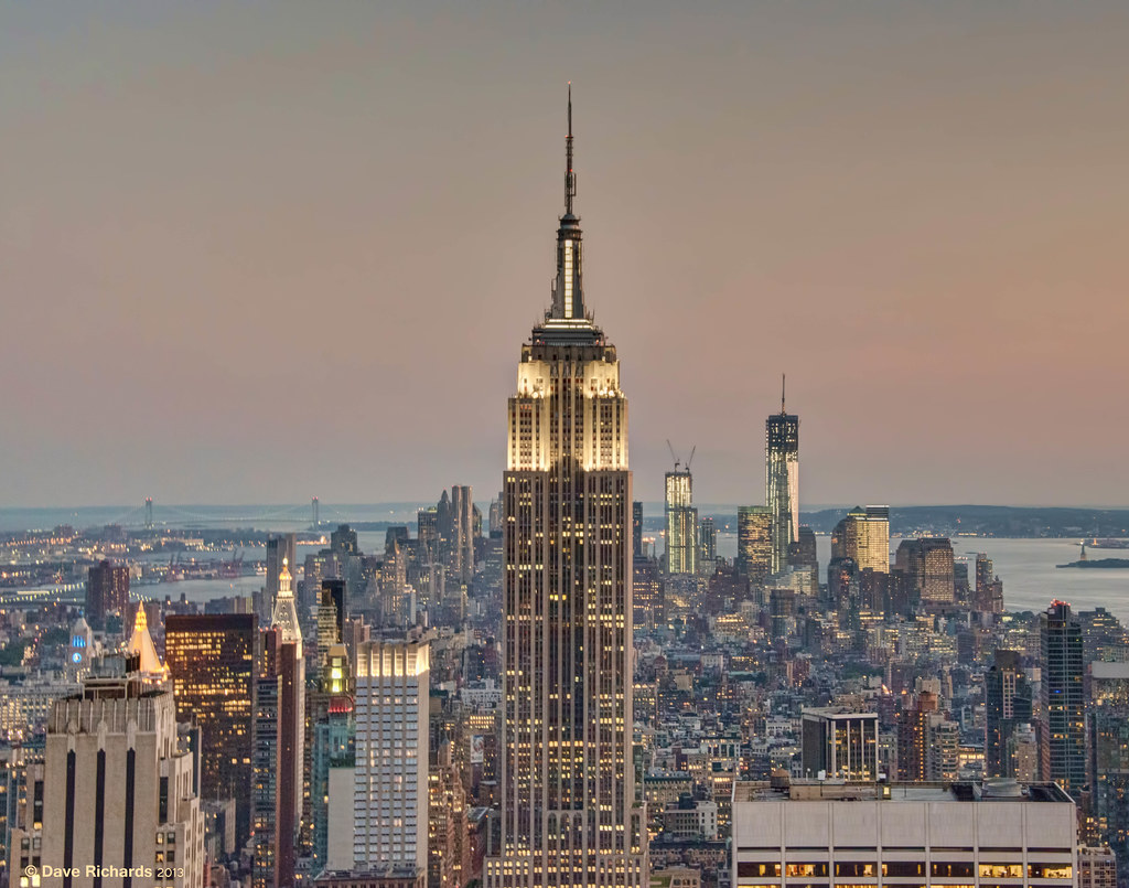 empire state building sunset - photo #17