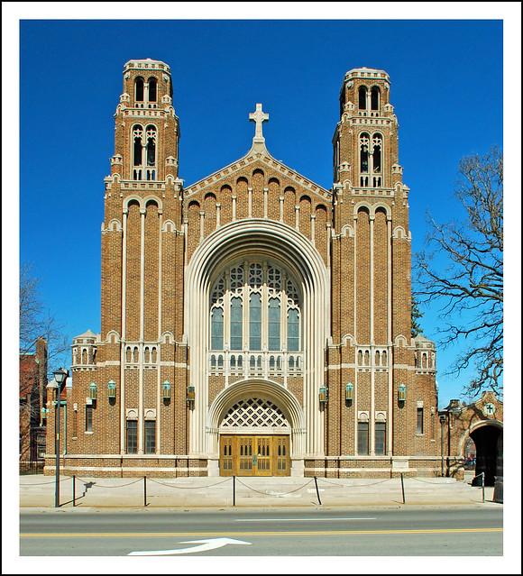 Sacred Heart Church Dearborn Michigan Flickr Photo Sharing