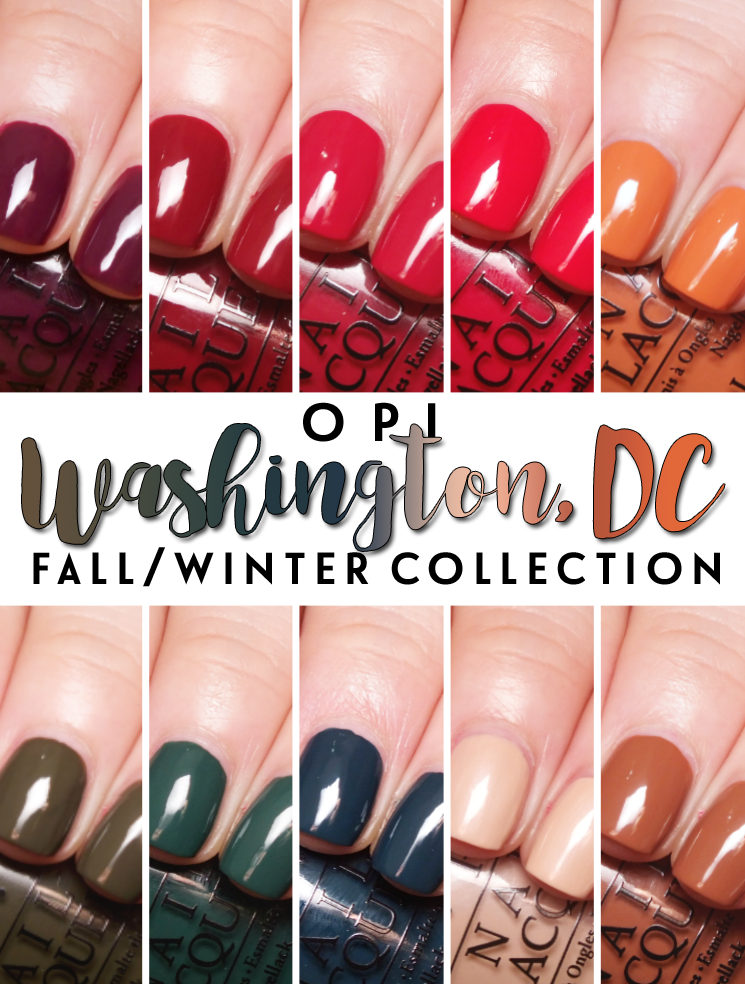 OPI Washingtong DC Collection FallWinter