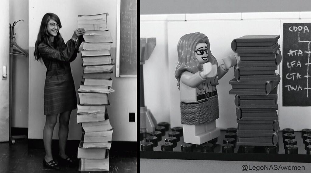 Women of NASA on LEGO Ideas - Margaret Hamilton's iconic photo