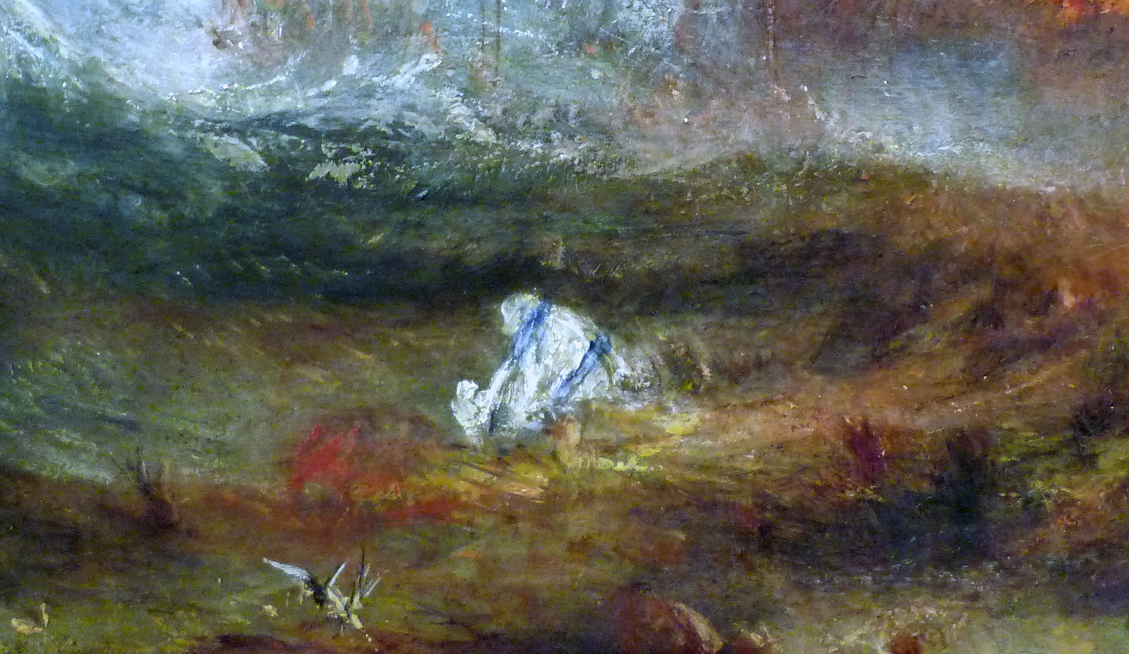 JMW Turner, Slave Ship, detail with surf | by profzucker