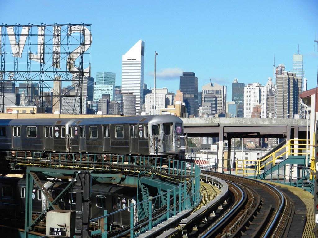 R 62a Subway Cars 1659 1660 2021 Irt Flushing Line At Q Flickr