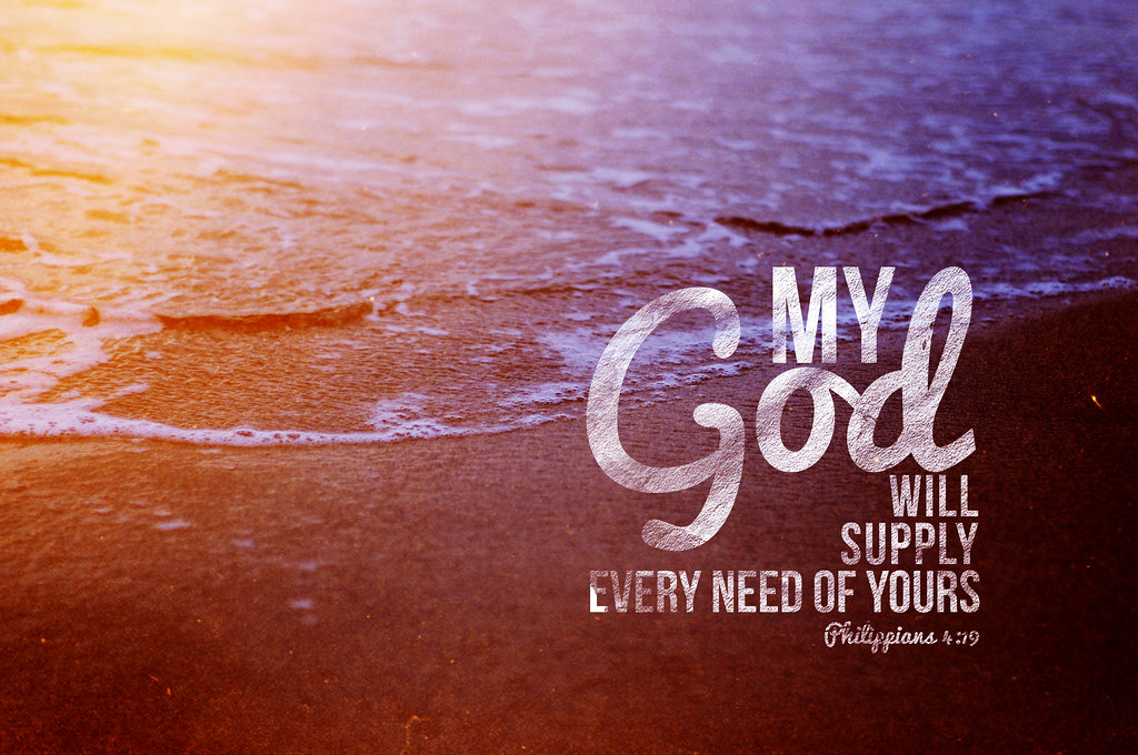 ... Philippians 4:19 | by Brittney Borowski