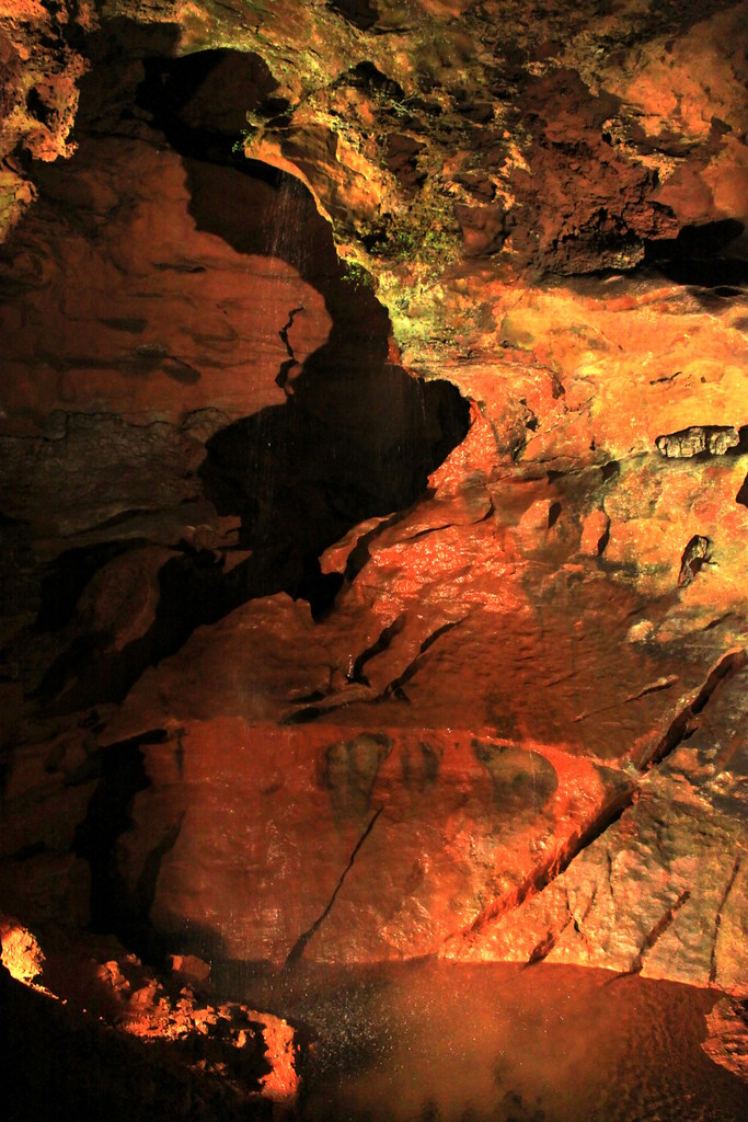 The Lost Sea Underground Waterfall Craighead Caverns Is