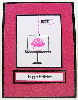 Project Three Happy Birthday Cupcake | by theladystamper2009