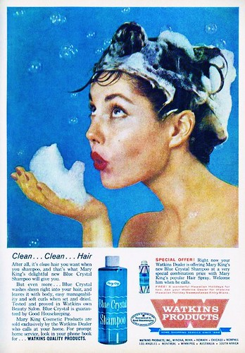 Watkins Blue Crystal Shampoo 1960s | by 1950sUnlimited