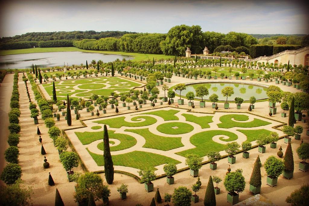 Jardin Du Chateau De Versaille Manon L Flickr