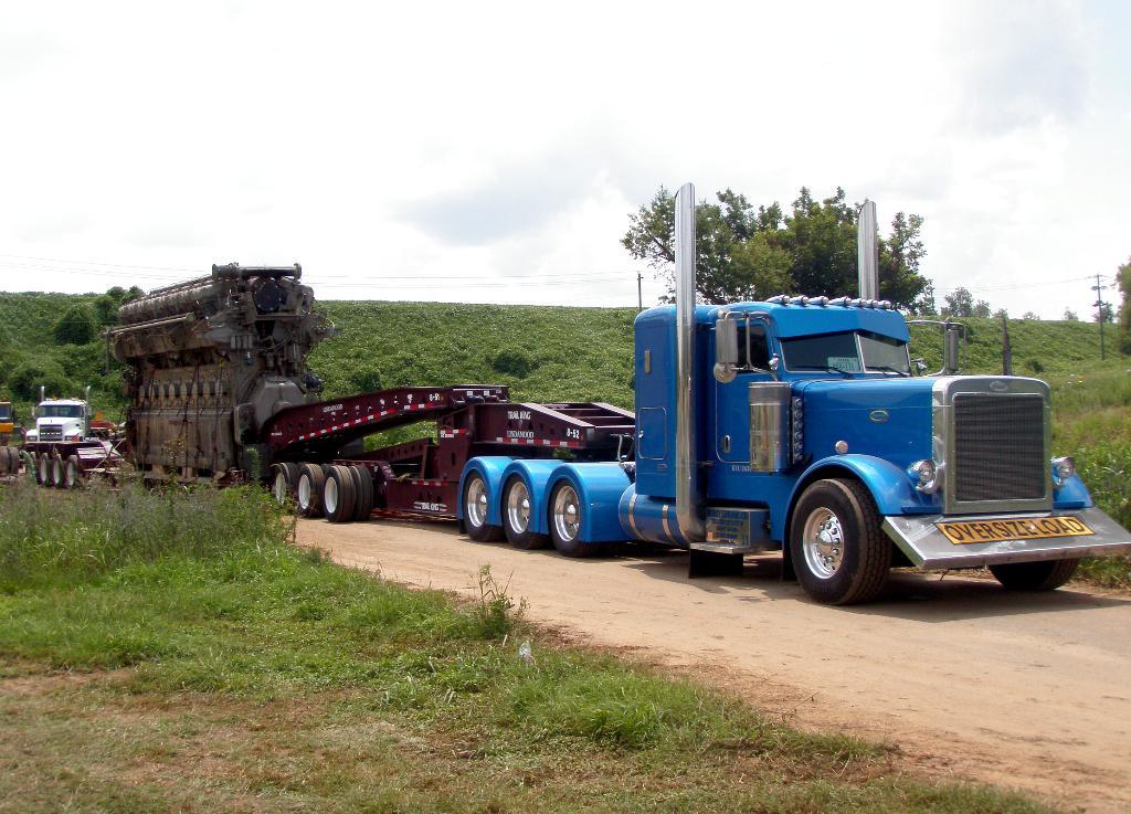 Michaeil Briseno Heavyhaul Truck Name Over The Top