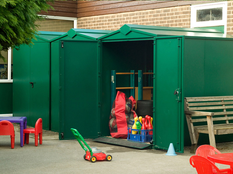 ... Lawn Mower And Gardening Equipment Storage Shed | By Lawn Mower Storage