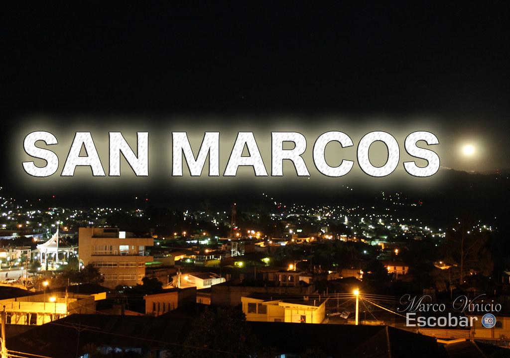 Ciudad de San Marcos, Guatemala | Anochecer en la bella tier… | Flickr