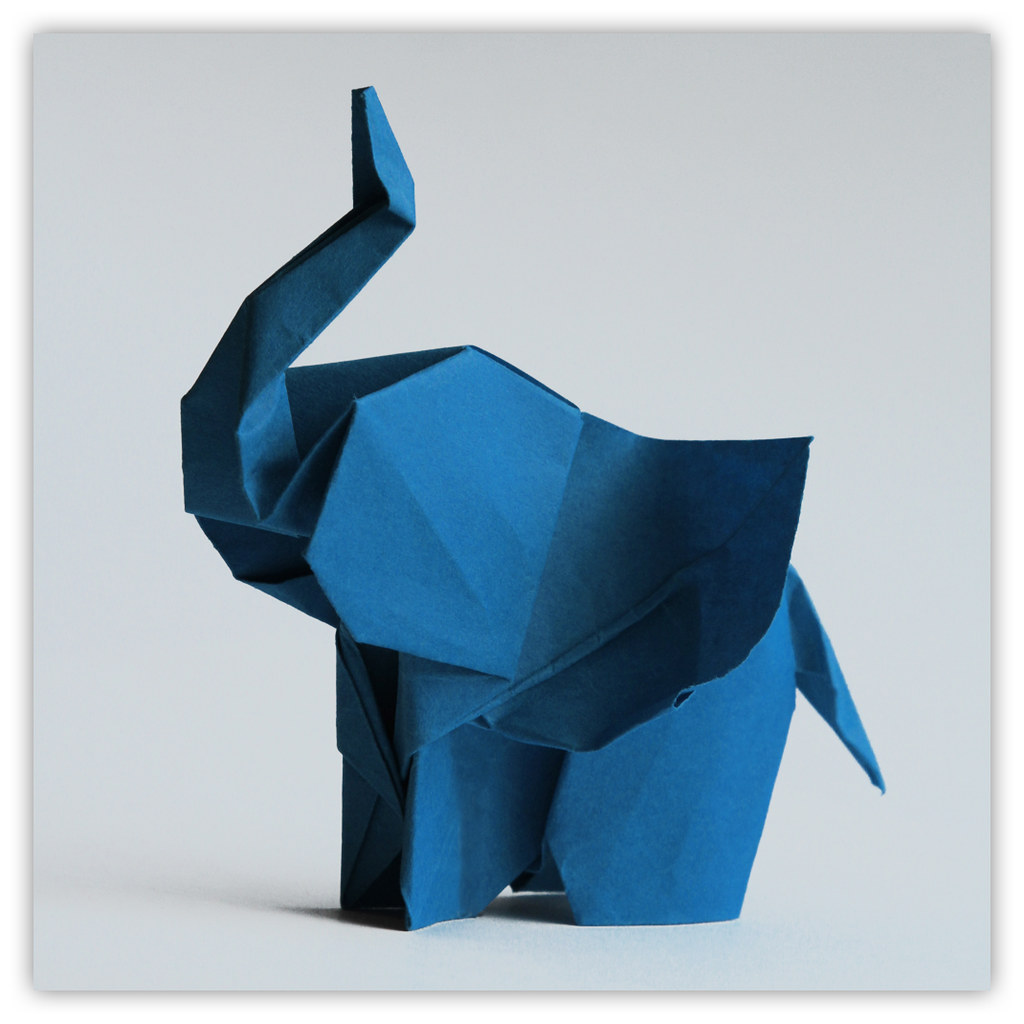 elephant den origami elefanten von stephan weber origa flickr. Black Bedroom Furniture Sets. Home Design Ideas