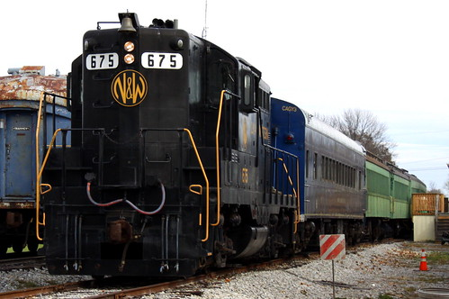 Norfolk & Western #675 - Bluegrass Railway