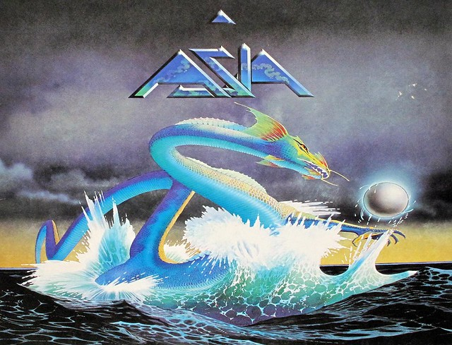 ASIA S/T SELF-TITLED EX- YES