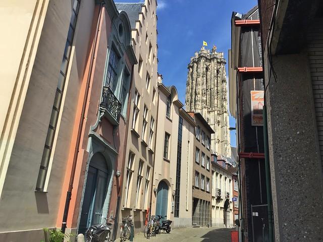 Torre de San Romualdo en Malinas (Mechelen) - Flandes