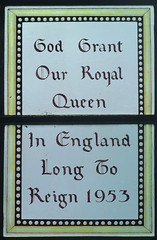 God Grant Our Royal Queen In England Long To Reign 1953