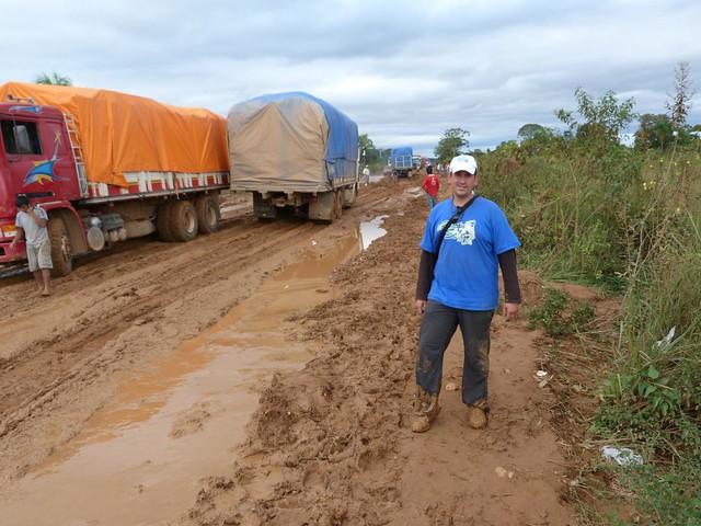 Sele en la carretera de Rurrenabaque (Bolivia)