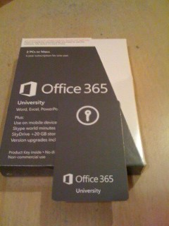 office 365 university with product key