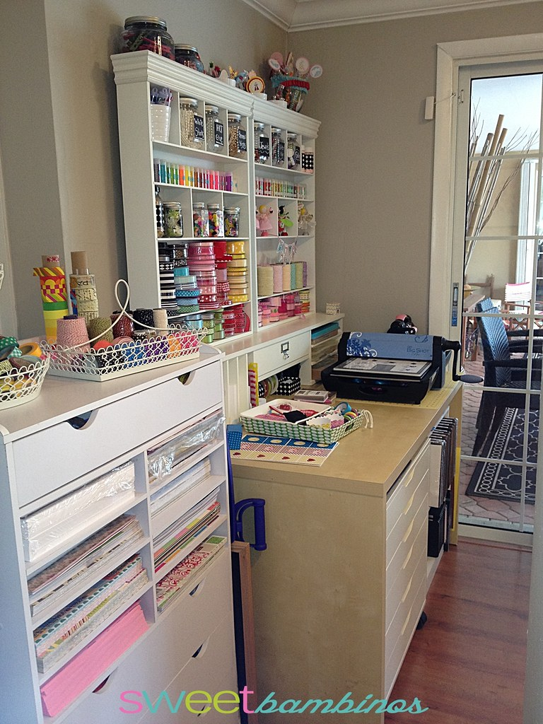 ikea craft room view from the hallway andrea flickr 2221