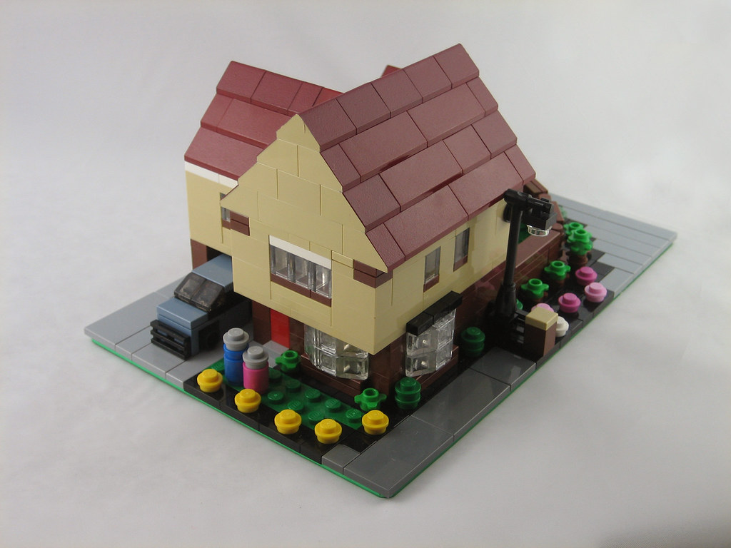 Mini Scale Lego House This Was A Moving In Present For