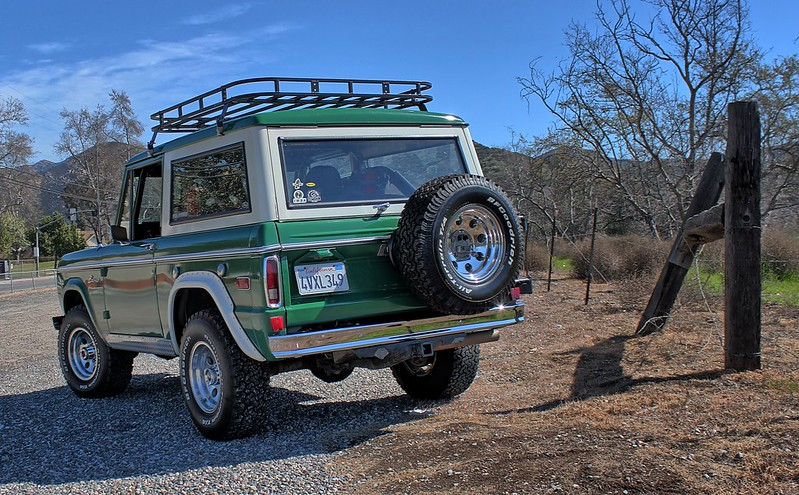 Sold Off Road Roof Rack Early Bronco Classicbroncos Com