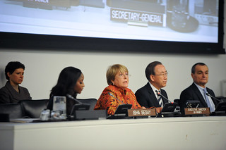 UN Women Executive Director Michelle Bachelet at the commemoration of International Women's Day | by UN Women Gallery