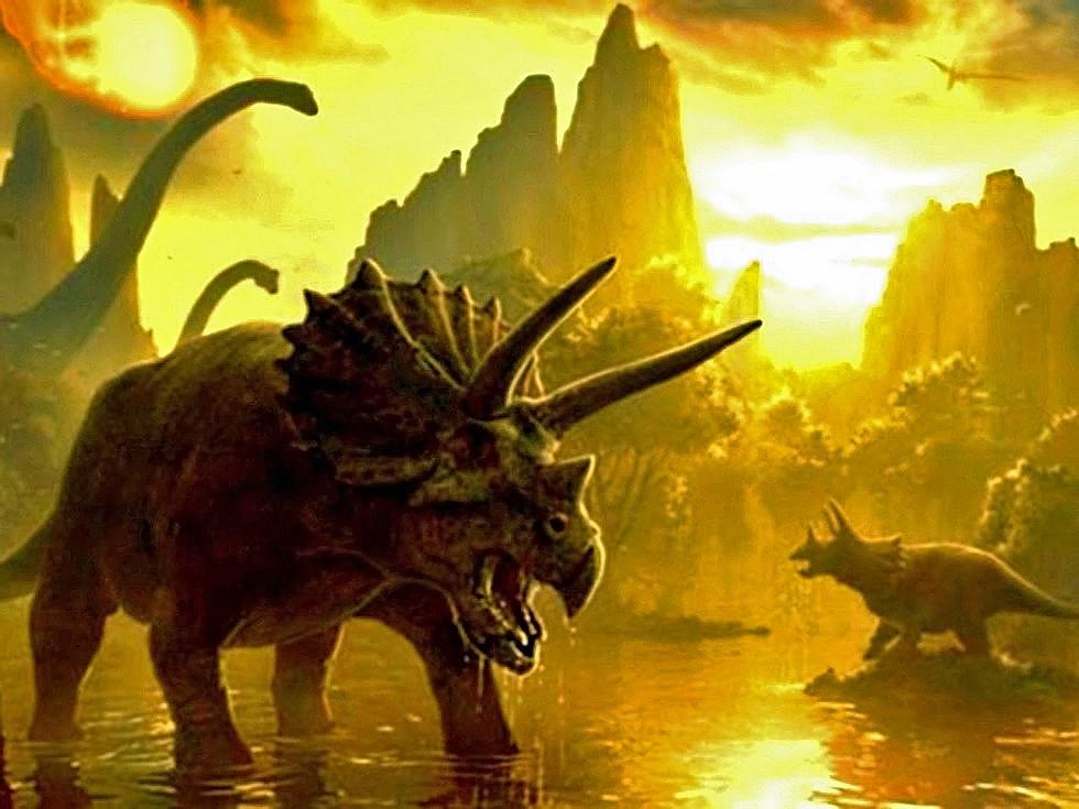 Dinosaurs 3d explore their world