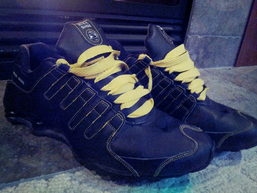 promo code 31d9a f24b9 Nike iD Shox NZ | Black/Yellow iD Shox Size 12 want to trade ...
